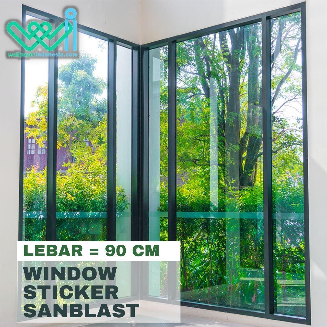Window Sticker Sanblast - 90cm
