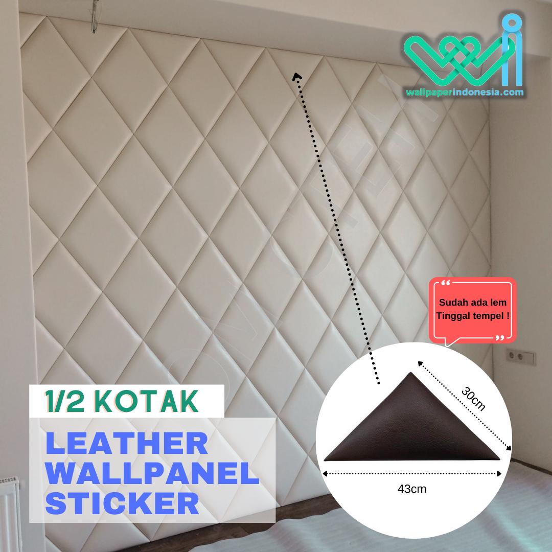 Wallpanel Leather 1/2