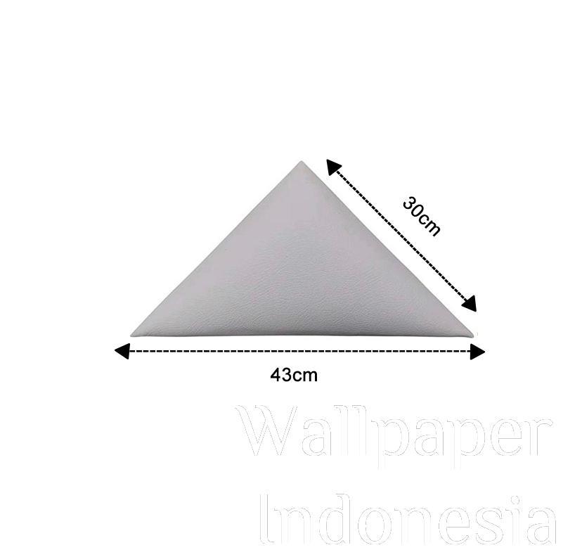 WALLPANEL HEADBOARD STICKER 201 WHITE 1/2 SISI