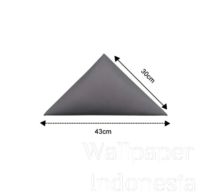 WALLPANEL HEADBOARD STICKER 202 GREY 1/2 SISI