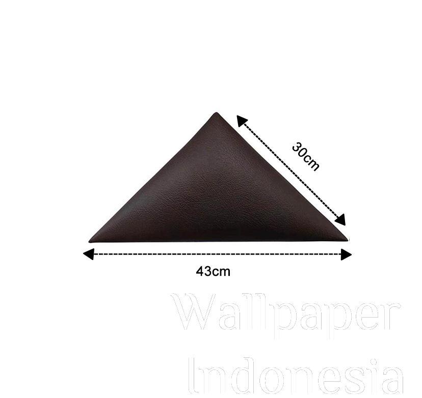 WALLPANEL HEADBOARD STICKER 205 BROWN 1/2 SISI
