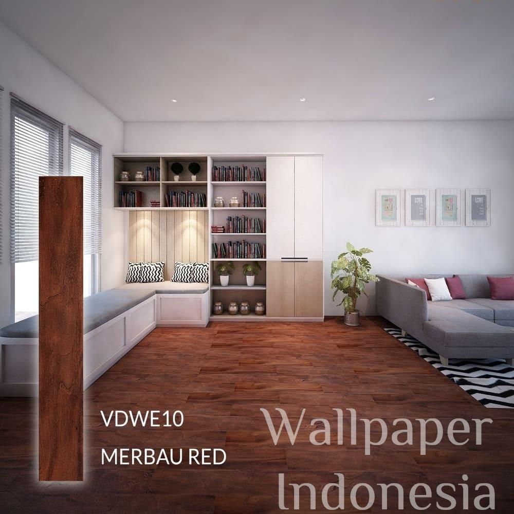 VDWE10 MERBAU RED
