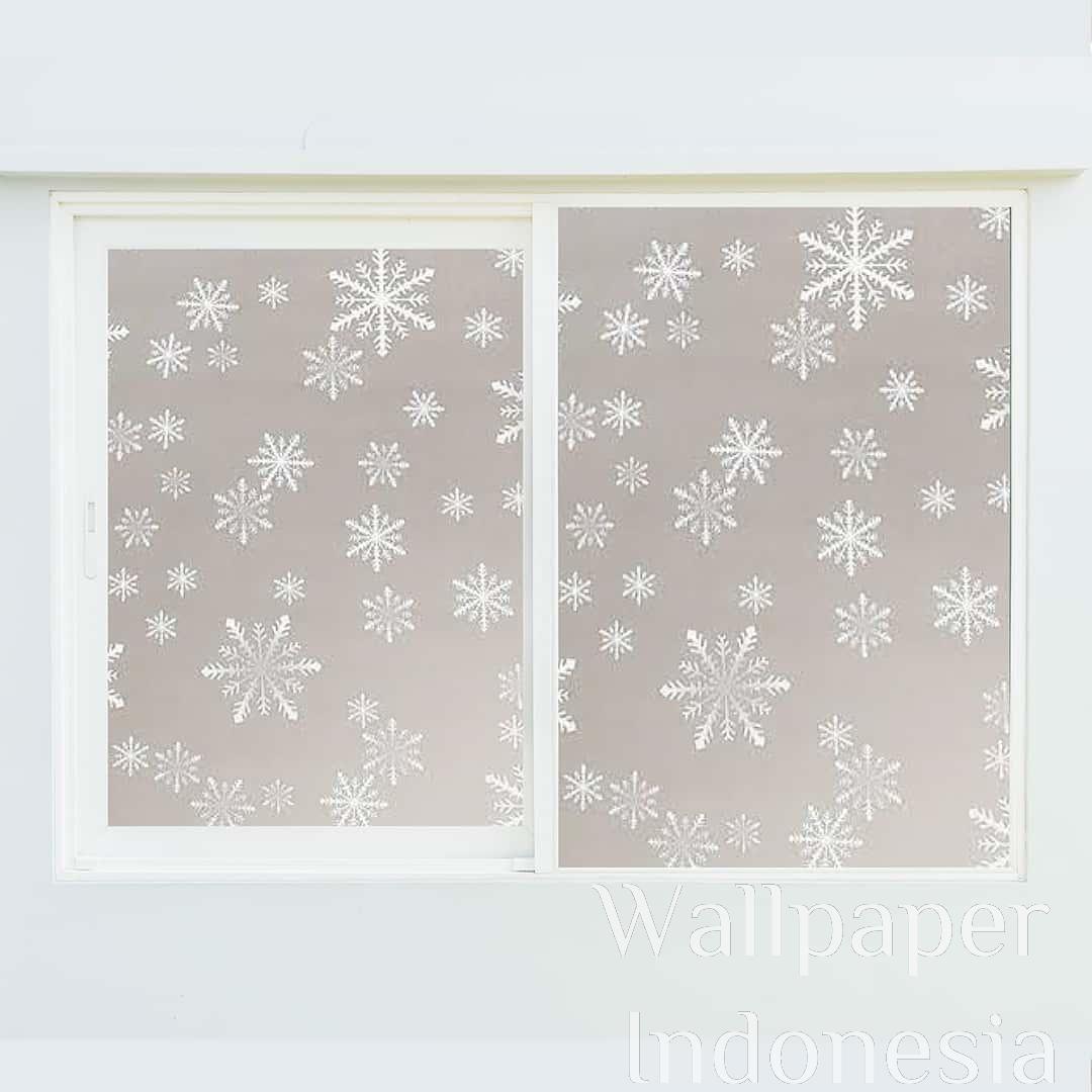 Window Sticker Sanblast - Salju